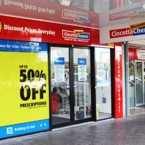 Cincotta Discount Chemist Revesby